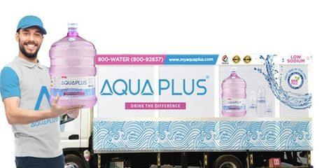10 AQUAPLUS Alkaline Water Bottles
