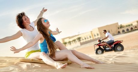 Abu Dhabi: 1- or 2-Night 4* Adventure Package with Quad Biking
