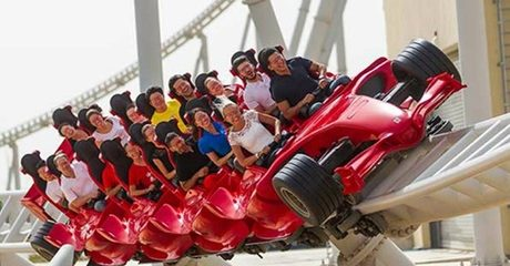 Abu Dhabi: 1- or 2-Night 5* Stay with Theme Park Ticket