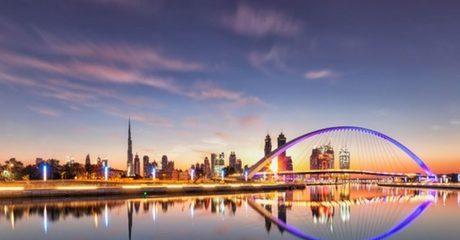 Burj Khalifa and Canal Abra Tour