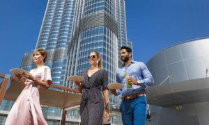 Burj Khalifa Brunch with Drinks