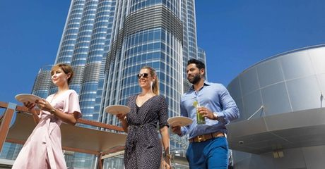 Burj Khalifa Brunch with Drinks