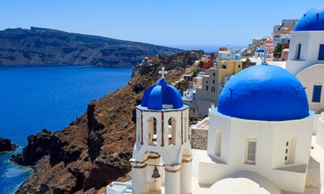 Athens and Santorini: 3*/4* 5-Night Tour with Breakfast