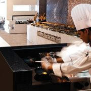 Buffet at Rosewater at 5*Jumeirah at Etihad Towers