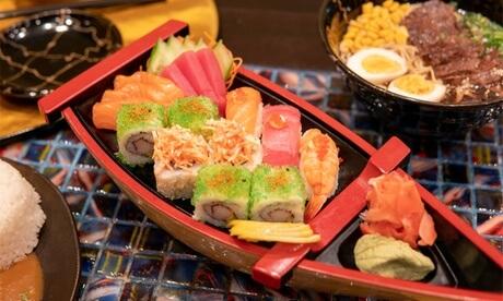 100 AED Toward Asian Cuisine