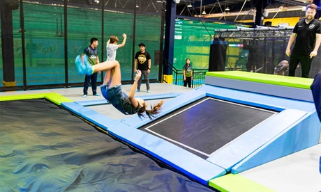 One-Hour Trampoline Access