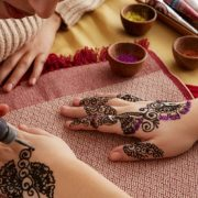 Hands can be adorned with designer henna all the way up to elbows for AED89.00 at Discount Sales.