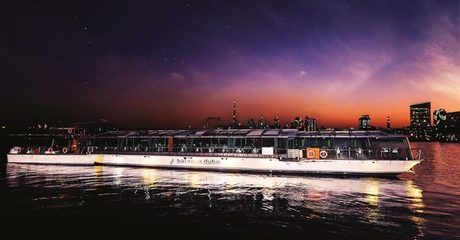 Four-Course Dinner Cruise from Bateaux Dubai