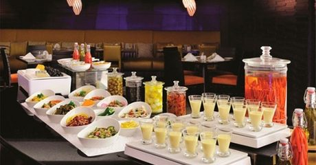 5* Buffet with Soft Drinks or House Beverages
