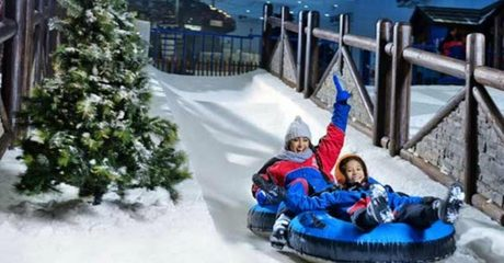 Dubai: 4* Stay with Ski Dubai Tickets
