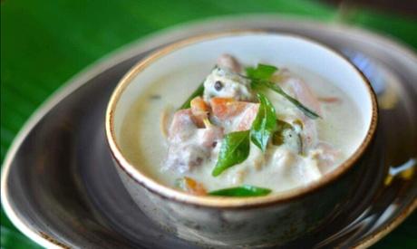 Meal at Nalukettu Restaurant