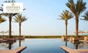 Pool Access at 5*  Anantara Eastern Mangroves Abu Dhabi Hotel