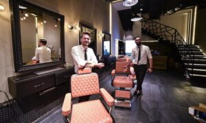 AED 100 Toward Men's Grooming Services