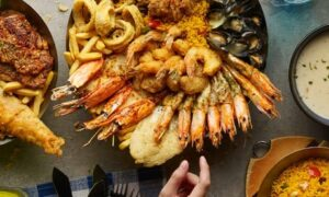 AED 100 Toward Seafood at Fish & Co