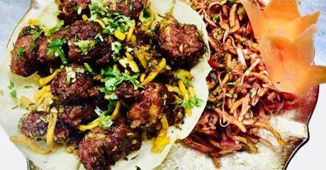AED 40 Toward Indian Food