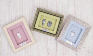 Framed 2D Hand or Foot Impression
