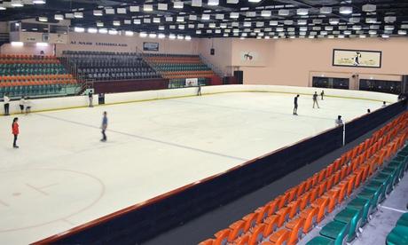 Ice Skating at Al Nasr Leisureland