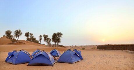 RAK: Bedouin Camp 1-Night Stay