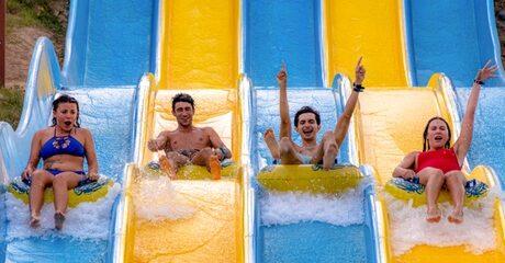 Ras al-Khaimah: 1-Night 4* Stay with Aquapark Tickets