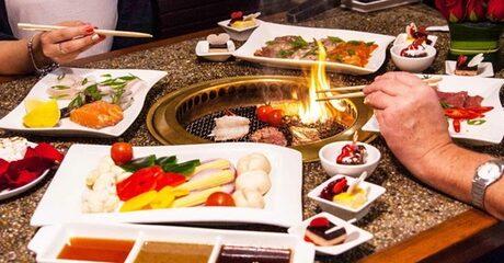 Sushi and Korean Barbecue
