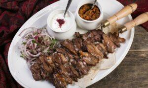 Two-Course Azerbaijani Meal