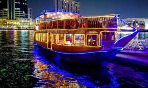Two Hour Creek Dinner Cruise: Child (AED 49)