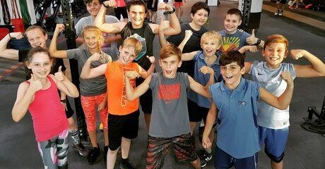 Two Kids CrossFit Classes