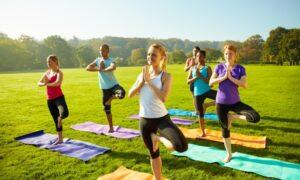 Yoga or Kick-Boxing Session