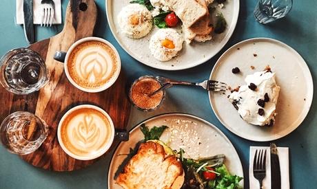 AED 50 Toward Breakfast Menu