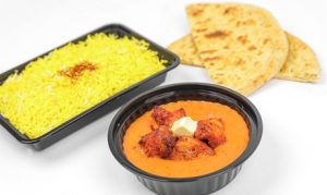 Takeaway or Delivery Indian Meal