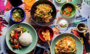 Two-Course Thai Set Menu Meal