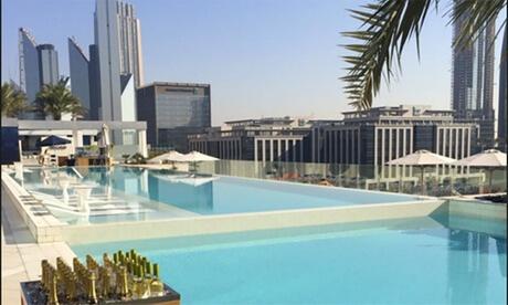 Pool Access at 5* Sofitel Dubai Downtown