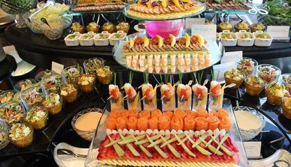 5* Breakfast Buffet with Beverages: Child (AED 69)