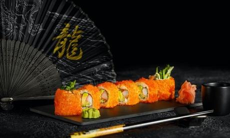 5* Sushi Set Menu with Drink