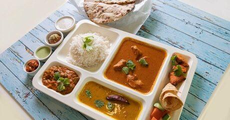 AED 50 Toward Indian Food