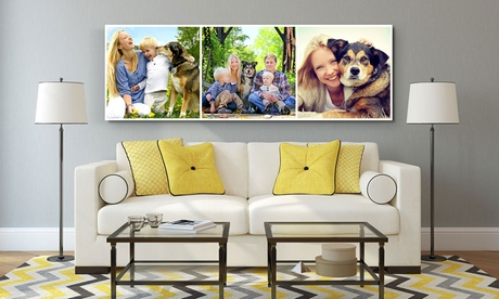 Panorama Collage Canvas Print