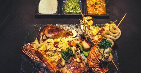 AED 100 Toward Oriental Food
