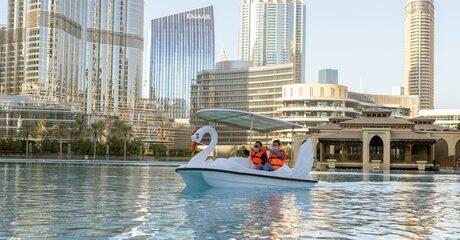 Dubai Fountain Water Experiences