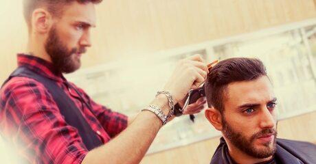 Men's Haircut and Beard Shave