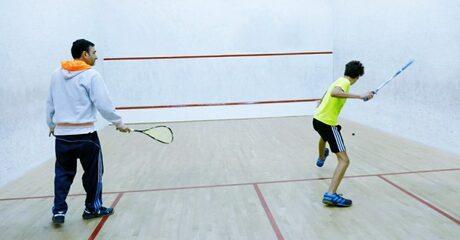 One-Hour Squash Session