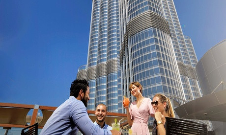 The Burj Club Brunch with Drinks