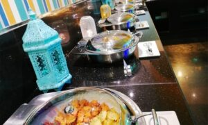 4* Iftar Buffet with Drinks (Child: AED 45
