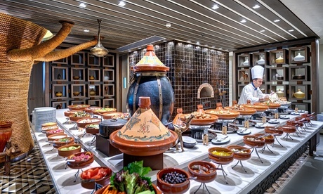 5* Iftar Buffet with Soft Drinks: Child AED 89