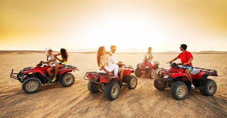 Desert Safari with Quad