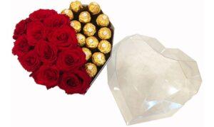 Roses with Ferrero Chocolates
