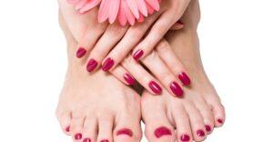 Up to 64% Off on Nail Spa/Salon - Mani-Pedi at Strands n Curls
