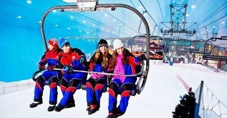 VIP Ski Dubai Snow Pass Package