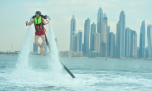 Up to 52% Off on Flyboarding / Water Jet Pack (Ride / Activity) at Hydro Water Sport L.L.C