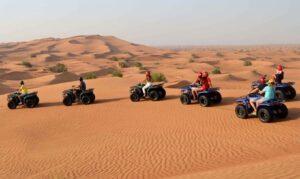 Quad Biking and Dune Bashing