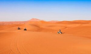 Up to 66% Off on VIP Evening Desert Safari + Quad Bike